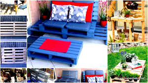 Pallet Patio Furniture Ideas by 39 Insanely Smart And Creative Diy Outdoor Pallet Furniture