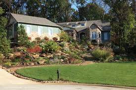 Landscape Mounds Front Yard - klein u0027s lawn u0026 landscaping landscapes designed landscapes