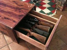 Gun Cabinet Coffee Table by Display Coffee Tablegun Cabinet Texasbowhunter Com Community