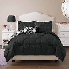 Black And White King Bedding Black And White Damask Bedding Ebay