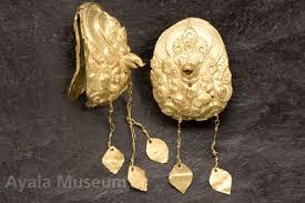 golden garuda earrings pre colonial philippines pre colonial