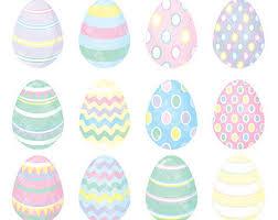 pastel easter eggs pastel easter egg clipart 71
