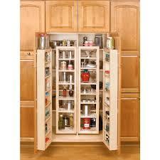 rubbermaid kitchen cabinet organizers rev a shelf 57 in h x 12 in w x 7 5 in d wood swing out cabinet