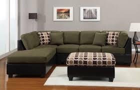 Lime Green Sectional Sofa Sectional Sofa 3 Pcs Sectional In Microfiber Sectional Sofas