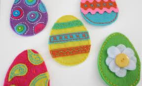felt easter eggs links with diy non candy alternatives for filling easter
