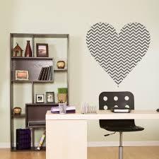 halloween wall stickers chevron heart wall decal