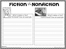 Fictional Resume Best Solutions Of Identifying Fiction And Nonfiction Worksheets