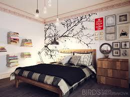 wallpaper dinding kamar vintage 50 desain hiasan dinding kamar tidur minimalis yang kreatif sebuah