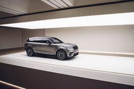 all new range rover velar makes its presence felt during ny auto