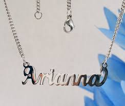 stainless steel name necklace images Arianna name necklaces stainless steel next day ship never jpg