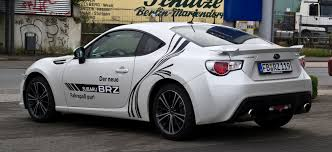 modified subaru brz file subaru brz 2 0i sport u2013 heckansicht 26 september 2012