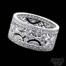 thick wedding bands beverley k jewelry platinum wide diamond wedding band