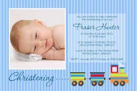 Invitation Cards For Dedication Of A Baby Baby Boy Baptism Invitation Dhavalthakur Com