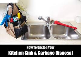 How To Unclog A Sink  Garbage Disposal KitchenSanity - Disposal kitchen sink