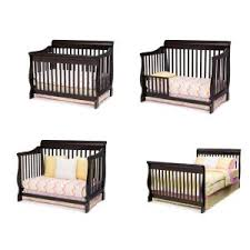 Crib Converts To Bed Delta Children Canton 4 In 1 Convertible Crib