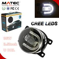 led fog light kit 2in 1 car led fog light with daytime running light kit 3 5 led auto