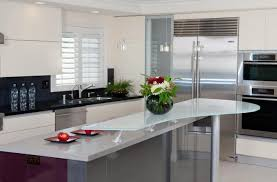 furniture unique glass countertops ideas for your kitchen