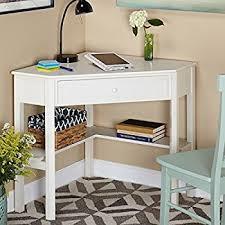 Dorm Desk Bookshelf Amazon Com Target Marketing Systems Wood Corner Desk With One