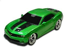 camaro remote car amazon com 1 18 scale 2011 chevrolet camaro rs ss green w black