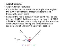 Same Side Interior Angles Postulate Lines And Angles