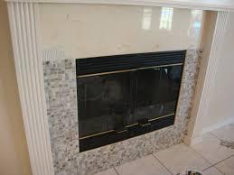 mosaic tile fireplace makeover u2013 grow taste create