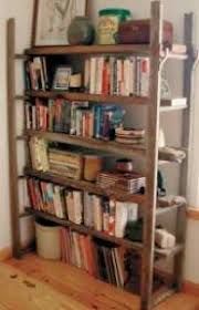 Leaning Shelves Woodworking Plans by Free Ladder Shelves Woodworking Plans And Information At