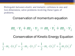 conservation of momentum equation