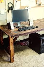 Cool Diy Desk Pallet Desk Plans Cool Diy Pallet Desk Plans Rroom Me