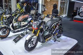bentley zoomer honda zoomer x by kd shop front quarter at 2016 bims indian