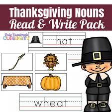 thanksgiving nouns only curiosity