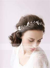 headpieces online 2018 hair accessories beaded gold blossom hair vine