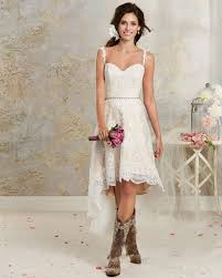 custom made wedding dresses uk 2017 boho lace wedding dress spaghetti straps high low
