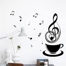 Music Note Home Decor Decoration Murale Picture More Detailed Picture About Coffee