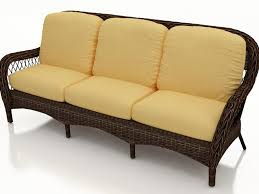 Wicker Settee Replacement Cushions by Creamy Rattan Wicker Cover Cushion Bench Seat Pad Outdoor Sofa