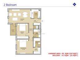 mudon views 2 bedroom duplex floor plan