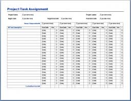 project plan template sample format