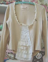 Shabby Chic Tops by 80 Best Altered Clothes Images On Pinterest Altered Couture