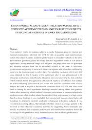 effect of gender on students u0027 academic performance and retention