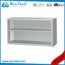 wall mounted kitchen storage cupboards stainless steel open wall mount storage cupboard cabinet for kitchen