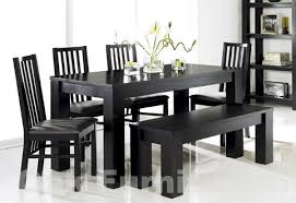 black dining table with bench black dining room table with bench black dining room table chairs