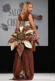 don in photos models don chocolate creations at salon du chocolat
