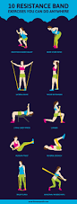 best 25 resistance band workouts ideas on pinterest exercise