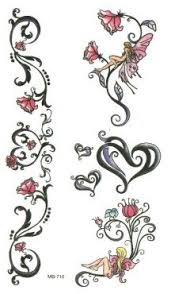 fairy vines roses heart tattoo ideas tattoos and piercings