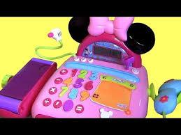 minnie mouse electronic cash register bowtique caja registradora