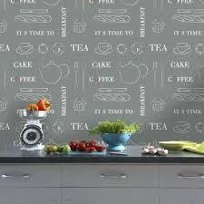 papier peint vinyl cuisine tapisserie pour cuisine papier peint cuisine moderne un papier
