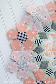 flower garden quilt pattern 464 best quilts grandmother u0027s flower garden images on pinterest