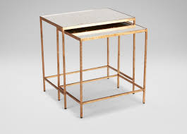 Ethan Allen Tables Zachary Nesting End Tables Side Tables