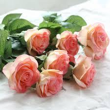 popular artificial latex flowers buy cheap artificial latex
