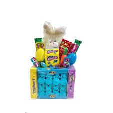 peeps basket easter bunny peeps candy basket walmart