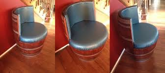 Whiskey Barrel Chairs Wine Barrel Furniture Ideas You Can Diy Or Buy 135 Photos